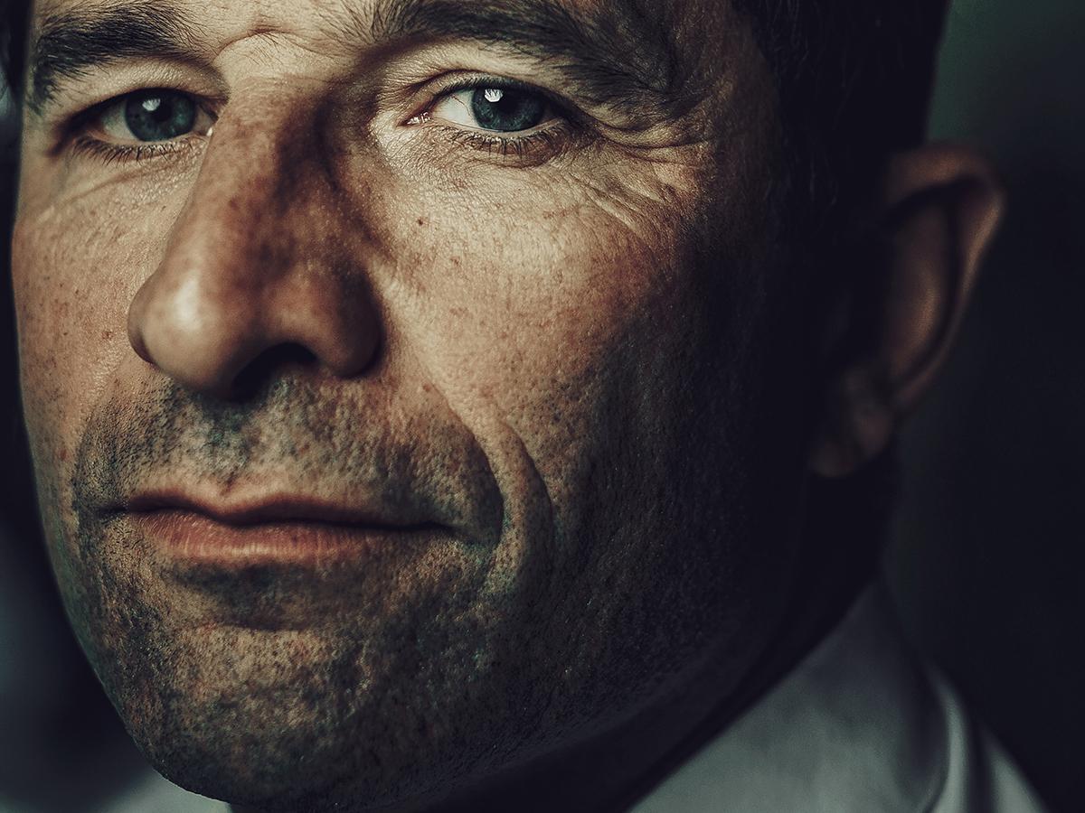Portrait Benoit Hamon - L'oeil de Ken