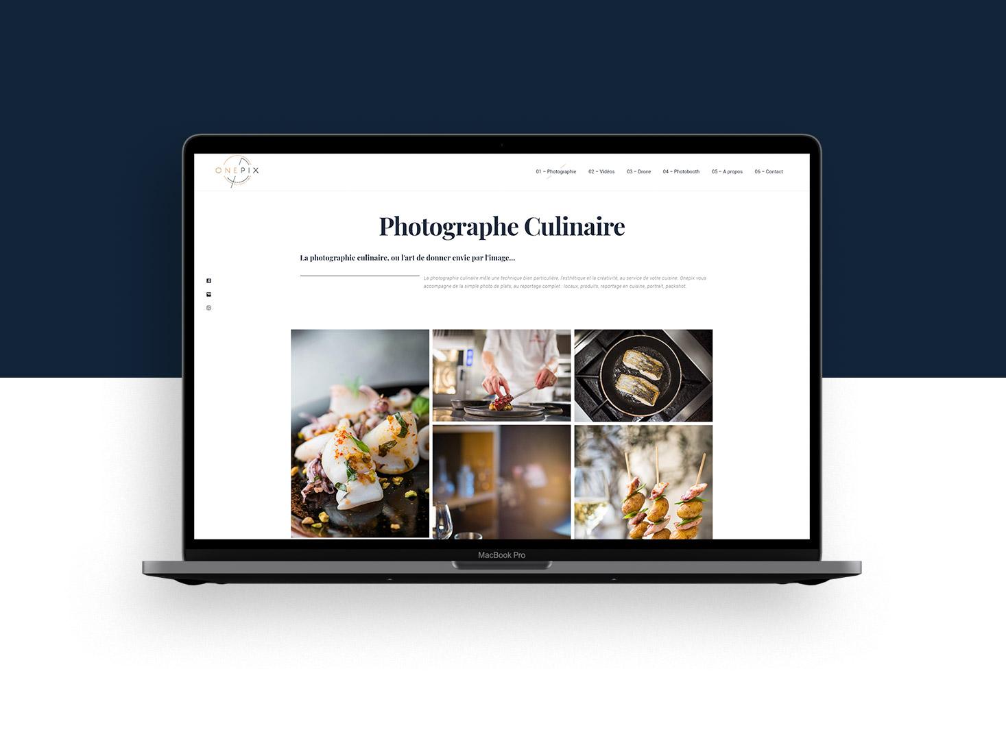 Site web photographe et vidéaste à Bordeaux